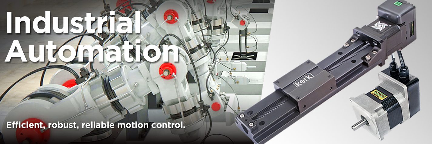 Haydon Kerk Pittman delivers efficient, robust, reliable motion control in the Industrial Automation market