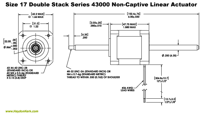 Non-Captive_Double_Linear_Actuator