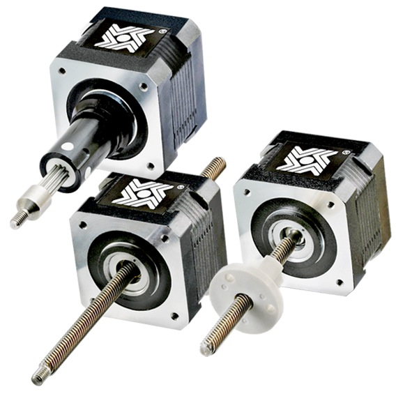 Linear actuators products haydon kerk for Miniature stepper motors with linear actuation
