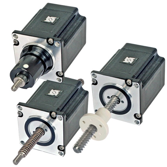 Size 23 Double Stack Hybrid Stepper Linear Actuator