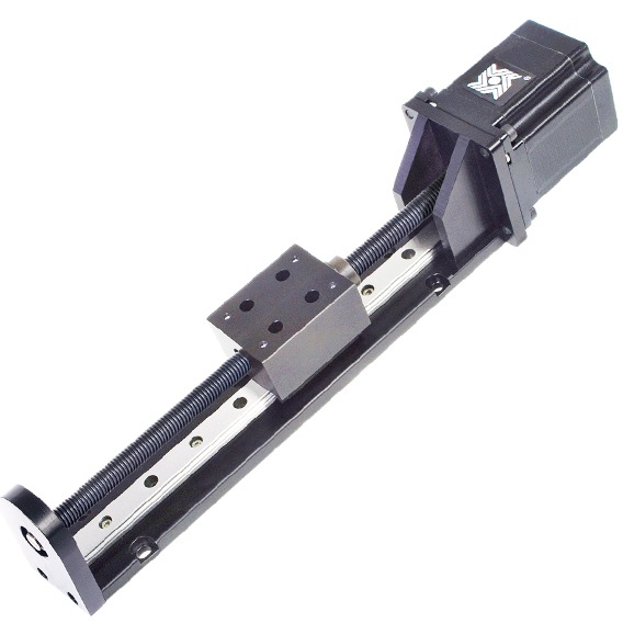 Motorized BGS08 Ball Guided Linear Rail System