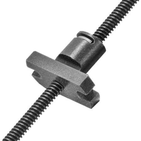 Kerk ZBM World's Smallest Anti-Backlash Nut and Lead Screw