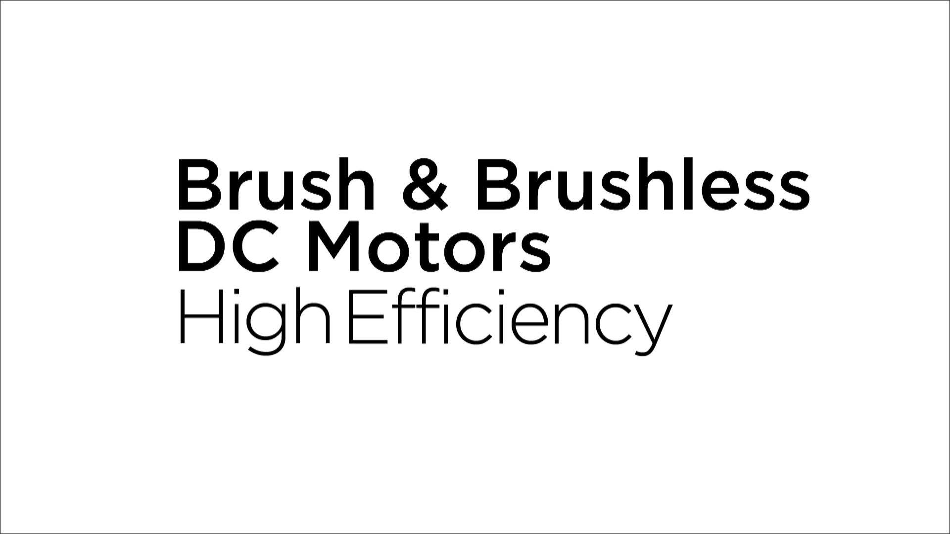 Pittman Brush & Brushless DC Motors Video