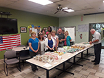 HKP Customer Service Bake Sale for the United Way