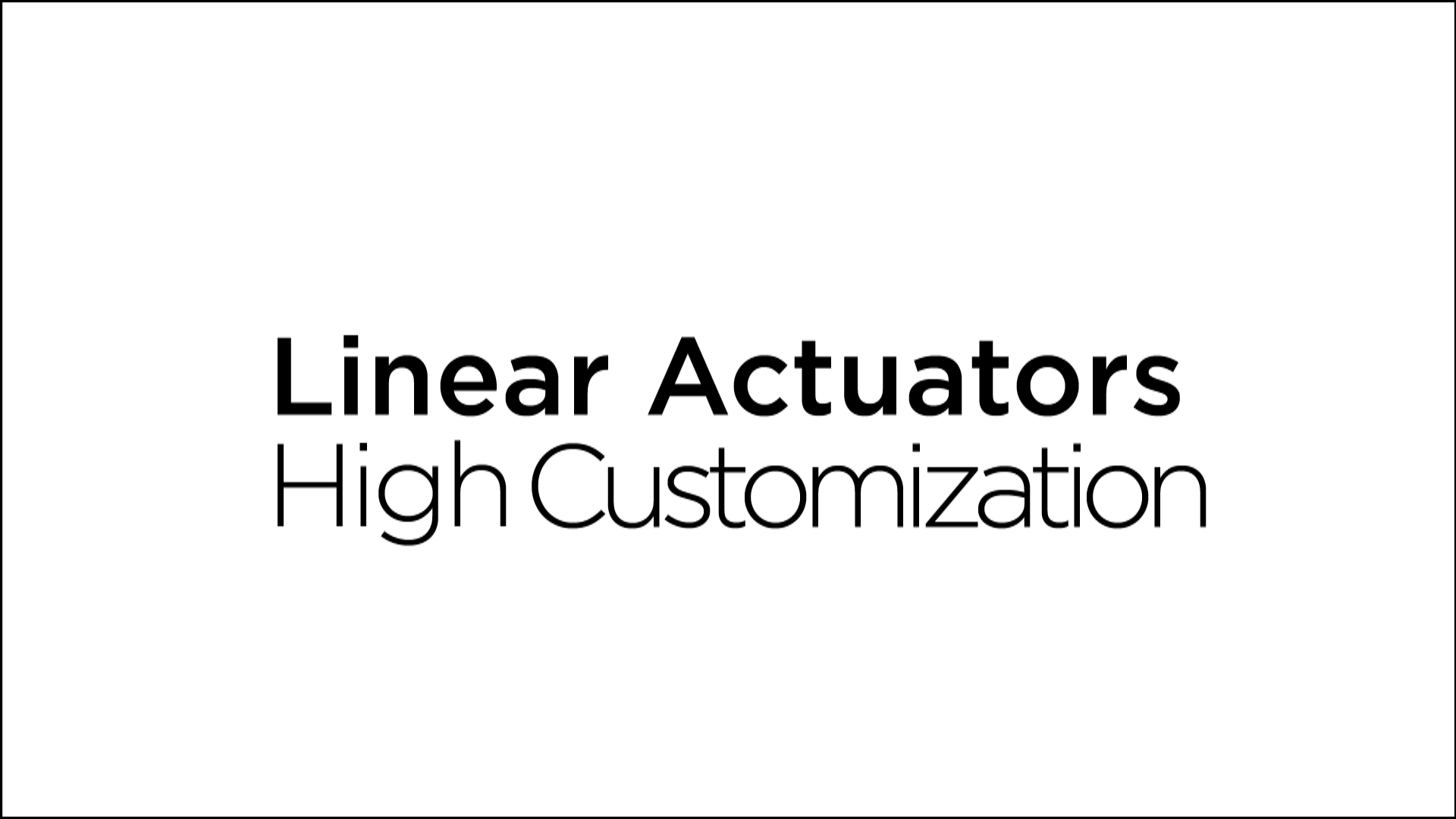 Haydon Kerk Linear Actuators Video