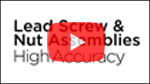 Haydon Kerk Lead Screw and Nut Assembly Video